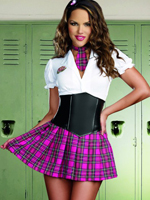School Girl Corset Dress